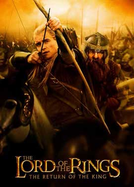 Lord of the Rings: The Return of the King - 11 x 17 Movie Poster - Style I