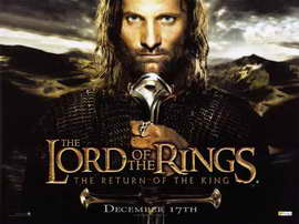 Lord of the Rings: The Return of the King - 11 x 17 Movie Poster - Style L