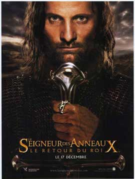 Lord of the Rings: The Return of the King - 11 x 17 Movie Poster - French Style A