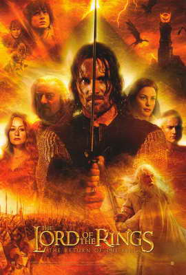 Lord of the Rings: The Return of the King - 27 x 40 Movie Poster - Style G