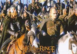 Lord of the Rings: The Return of the King - 11 x 14 Poster German Style A
