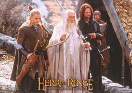 Lord of the Rings: The Return of the King - 11 x 14 Poster German Style C
