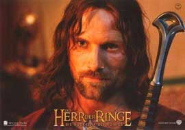 Lord of the Rings: The Return of the King - 11 x 14 Poster German Style G