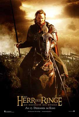 Lord of the Rings: The Return of the King - 11 x 17 Movie Poster - German Style C