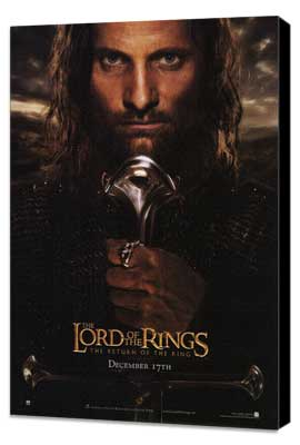 Lord of the Rings: The Return of the King - 11 x 17 Movie Poster - Style B - Museum Wrapped Canvas