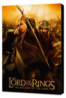 Lord of the Rings: The Return of the King - 11 x 17 Movie Poster - Style I - Museum Wrapped Canvas