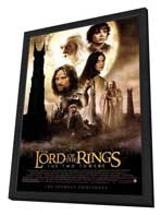Lord of the Rings: The Two Towers - 11 x 17 Movie Poster - Style A - in Deluxe Wood Frame