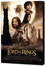 Lord of the Rings: The Two Towers - 27 x 40 Movie Poster - Style A - Museum Wrapped Canvas