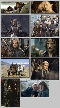 Lord of the Rings: The Two Towers - Set of 43 - 8 x 10 Color Photos