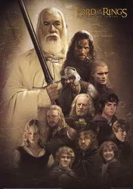 Lord of the Rings: The Two Towers - 11 x 17 Movie Poster - Style B