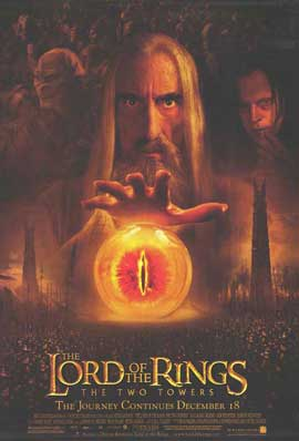 Lord of the Rings: The Two Towers - 11 x 17 Movie Poster - Style J