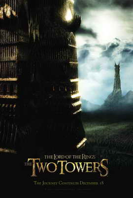 Lord of the Rings: The Two Towers - 27 x 40 Movie Poster - Style D