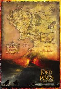 Lord of the Rings: The Two Towers - 11 x 17 Movie Poster - Style D - Museum Wrapped Canvas