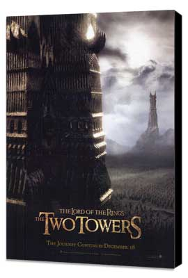 Lord of the Rings: The Two Towers - 11 x 17 Movie Poster - Style H - Museum Wrapped Canvas