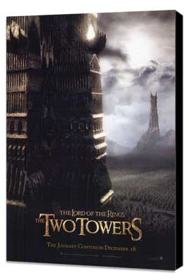 Lord of the Rings: The Two Towers - 27 x 40 Movie Poster - Style D - Museum Wrapped Canvas