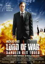 Lord of War - 27 x 40 Movie Poster - German Style A