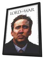 Lord of War - 27 x 40 Movie Poster - Style A - in Deluxe Wood Frame