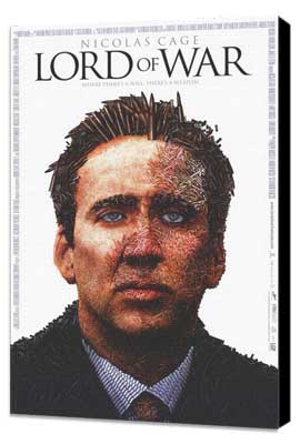 Lord of War - 27 x 40 Movie Poster - Style A - Museum Wrapped Canvas