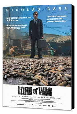 Lord of War - 27 x 40 Movie Poster - Style E - Museum Wrapped Canvas