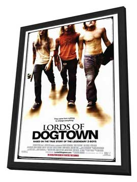 Lords of Dogtown - 27 x 40 Movie Poster - Style A - in Deluxe Wood Frame
