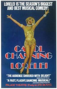 Lorelei (Broadway) - 11 x 17 Poster - Style A