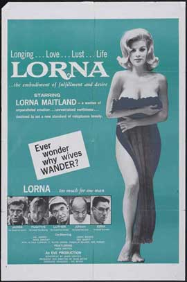 Lorna - 27 x 40 Movie Poster - Style C