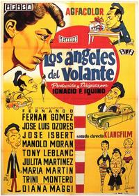 Los Angeles del Volante - 11 x 17 Movie Poster - Spanish Style A