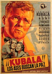 Los Ases Buscan La Paz - 27 x 40 Movie Poster - Spanish Style A