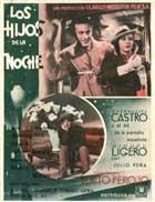 Los hijos de la noche - 11 x 17 Movie Poster - Spanish Style B