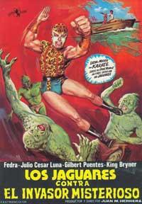 Los Jguares Contra el Invasor Misterioso - 11 x 17 Movie Poster - Spanish Style A