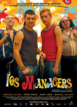 los managers - 11 x 17 Movie Poster - Spanish Style A