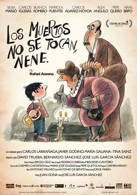 Los muertos no se tocan, nene - 43 x 62 Movie Poster - Spanish Style A
