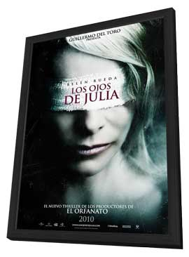 Los ojos de Julia - 27 x 40 Movie Poster - Spanish Style A - in Deluxe Wood Frame