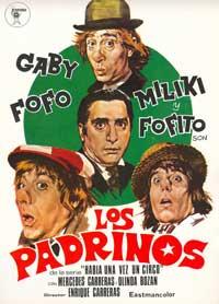 Los Padrinos - 11 x 17 Movie Poster - Spanish Style A