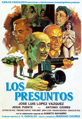 Los presuntos - 27 x 40 Movie Poster - Spanish Style A