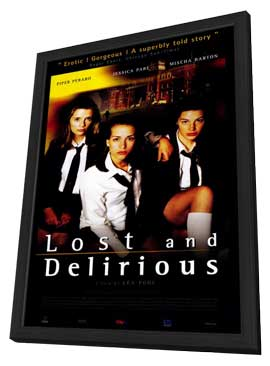 Lost and Delirious - 27 x 40 Movie Poster - Style A - in Deluxe Wood Frame