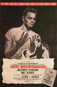 Lost Boundaries - 27 x 40 Movie Poster - Style A