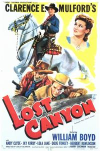 Lost Canyon - 11 x 17 Movie Poster - Style A