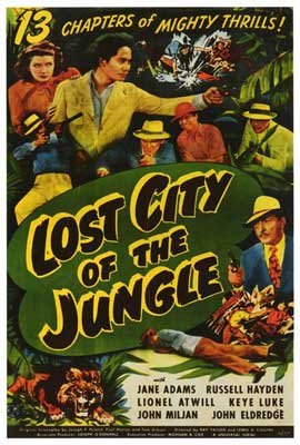 Lost City of the Jungle - 27 x 40 Movie Poster - Style A