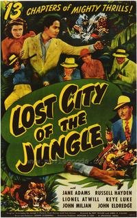 Lost City of the Jungle - 43 x 62 Movie Poster - Bus Shelter Style A