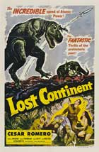 Lost Continent - 11 x 17 Movie Poster - Style B