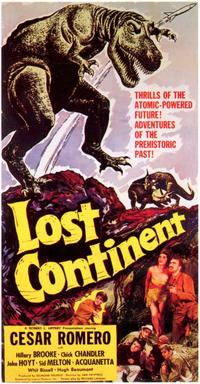 Lost Continent - 11 x 17 Movie Poster - Style A