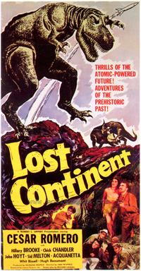 Lost Continent - 43 x 62 Movie Poster - Bus Shelter Style A