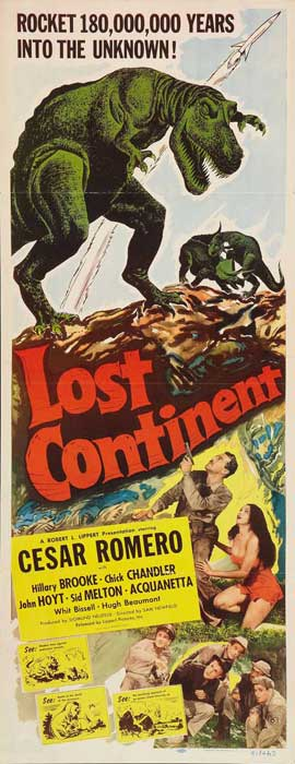 Lost Continent - 14 x 36 Movie Poster - Insert Style A
