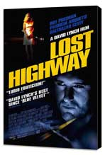 Lost Highway - 27 x 40 Movie Poster - Style B - Museum Wrapped Canvas