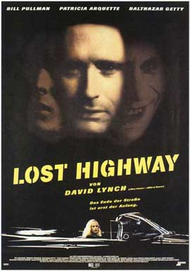 Lost Highway - 11 x 17 Movie Poster - German Style A