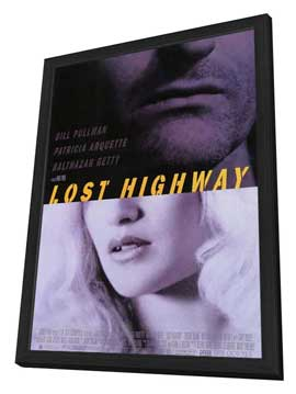 Lost Highway - 27 x 40 Movie Poster - Style A - in Deluxe Wood Frame