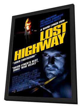 Lost Highway - 27 x 40 Movie Poster - Style B - in Deluxe Wood Frame
