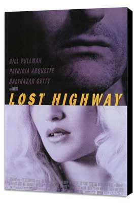 Lost Highway - 27 x 40 Movie Poster - Style A - Museum Wrapped Canvas