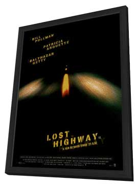 Lost Highway - 11 x 17 Movie Poster - Style D - in Deluxe Wood Frame